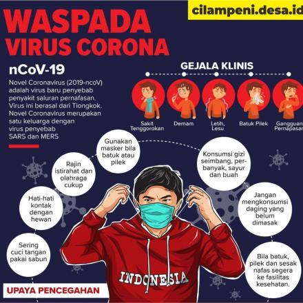 6 Langkah mencegah penyebaran virus CORONA